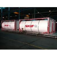 Buy cheap Liquid Chemical Tank Container Transport Light Tare Weight ISO 20ft product