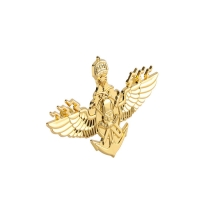 Buy cheap Composed 1.5 Inch Army Metal Badges 3D Embossed Metal Button Pin product