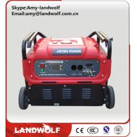 China 2016 Low Fuel Consumption High Efficiency  portable 230v Gasoline Generators on sale