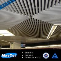 Quality Aluminum Baffle Ceiling/Building Construction Materials for Shopping Malls for sale
