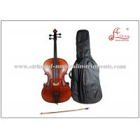Buy cheap Durable brown varnish Musical Instrument Cello Full Size Musical Aileen product