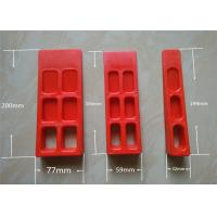 Buy cheap Custom Red Printer Tools Heidelberg Paper Wedge For Printing Machine product