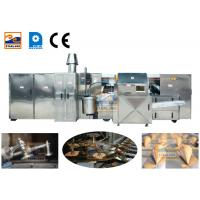 Buy cheap 380V Waffle Crispy Ice Cream Cone Production Line Driven By 3 Phase Power product