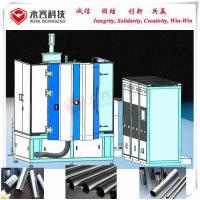 Buy cheap Metal Rose / Gold Pipes Vacuum PVD Coating Services For Bathroom Fittings product