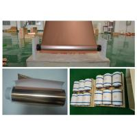 Buy cheap RoHS Certificated FPC Copper Foil Sheet , 6um Electrodeposited Copper Sheet Metal product