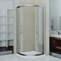 Buy cheap Tempered Bathroom Sliding Glass Shower Doors And Enclosures For Stand Up Shower product