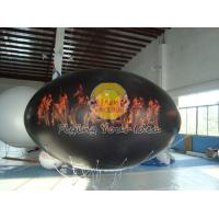 Buy cheap Waterproof and Fireproof Black 0.18mm PVC Oval Balloon with Total Digital Printing product