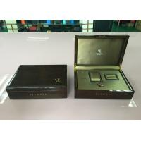 Buy cheap Wooden Watch , Necklace Jewelry Box With Brocade Sillk Cotton Interior product
