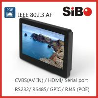 Buy cheap SIBO Q896 In Wall Android Tablet With RS232 RS485 product