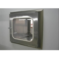 Buy cheap Stainless Steel Clean Room Static Pass Box For Goods Transfer product