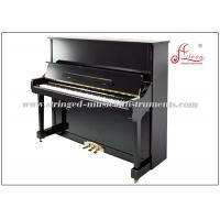 Buy cheap 88 Key Keyboard Piano , Cast Iron Frame Black Polished Silent Upright Piano product