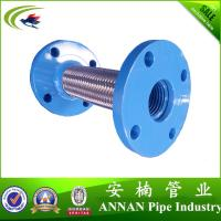 Buy cheap Flange Connection Stainless steel corrugated hose,High pressure metal hose,Flexible braided hose product