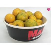 Buy cheap 100 CTNs 38oz Paper Paper Salad Bowls with Clear Lid Custom Printed Design product