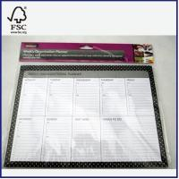 China high quality Weekly Organisational planner with 9 pads on sale