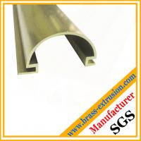 Buy cheap C38500 CuZn39Pb3  CuZn39Pb2 CW612N C37700 building material brass profiles product