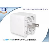 China White Single Port Foldable US PIN Usb Travel Adaptor 5V 2.4A High Efficiency wholesale