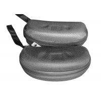Buy cheap EVA Plate Mens Sunglasses Case / Hard Cool Glasses Case With Grid Nylon Surface product