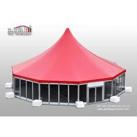 Buy cheap Luxury High Peak Wedding Tent for Sale, High Peak Party Tent for Outdoor Parties product