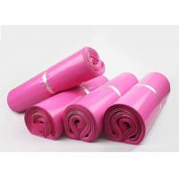China Cheap Packaging Materials Pink Plastic Mailing Bags For Posting Parcels on sale