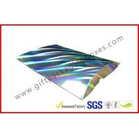 Buy cheap Laser Silver Card board Packaging A4 B5 Document Card Board Packaging product