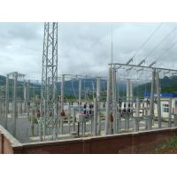 Buy cheap 66 KV Steel Frame Structure Building , Steel Frame Buildings Electric Power from wholesalers