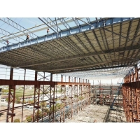 Buy cheap Single Multi Floor Warehouse Q235B High Rise Steel Structures product