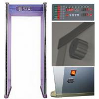 Buy cheap ABNM600M easy operation 6 zones walk through metal detector with LED alarm lights product