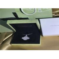 Buy cheap 18K White Gold Van Cleef & Arpels Magic Alhambra Necklace With Diamonds product