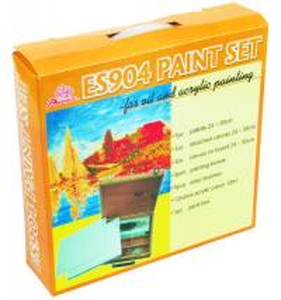 Buy cheap 5pcs Painting Brushes Acrylic Art Set Drawing Kits For Beginners 12pcs Acrylic Colour 12ml product