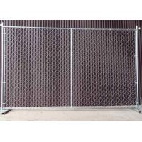 Buy cheap Square / Round Temporary Chain Link Fence For Construction Sites 6' H X 10' L product