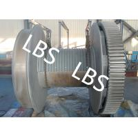 Buy cheap Crane / Mine / Port Rope Winch Drum Electric Pulling Winch 10t 20t product