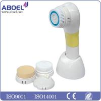 China Waterproof Electric Facial Cleansing Brush , Dirt And Pore Cleaner CE FCC ROHS Standard wholesale