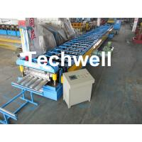 Buy cheap Galvanized Steel Floor Deck Roll Forming Machine for Making Steel Structure Floor Decking Panel product