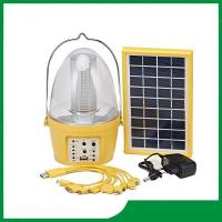 Buy cheap Portable solar lantern, rechargeable led solar lantern light with FM radio & phone charger product