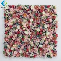 Buy cheap 40*60cm Artificial Rose Wall , Wedding Use Hydrangea Flower Wall Panel product