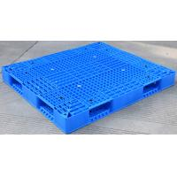 Quality Eco Friendly HDPE Plastic Pallets / Stackable Plastic Pallets With Reinforced Rims for sale