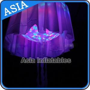Buy cheap LED Light Helium Balloon Mega Inflatable Jellyfish Halloween , Shining Night Ball product