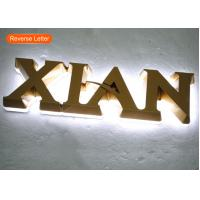 Buy cheap Backlit Mini Acrylic 3D LOGO LED Channel Letters For Indoor Signage product