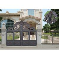 Buy cheap Villa Aluminum Electric Garden Door Opening Type With Remote Control Motor Shaft 4.5m product