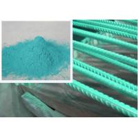 Buy cheap Metallic Green Rebar Epoxy Coating Penetration Resistance Less Funnelled product