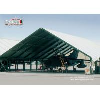 Buy cheap Special Fabric Aircraft Hangar Tent 30M Width With Glass Wall product