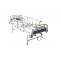 Buy cheap Cheap 2 Crank Manual Bed Patient Warding Crank Care Cinic Nursing Hospital Bed For Patients Treatment product