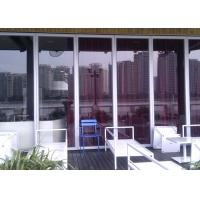 Buy cheap Aluminum Frame Glass Partition Wall  Sliding Partition Suspended product