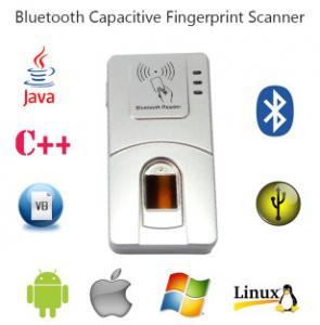 Buy cheap Андроида УСБ ХФ7000 блок развертки отпечатка пальцев биометрии Хандхэльд К# Блуэтоотх беспроводной product