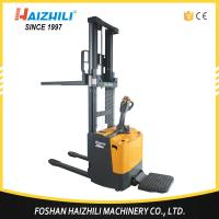 Buy cheap Made In China Warehouse Used 1600mm 1 ton Electric Pallet Stacker product