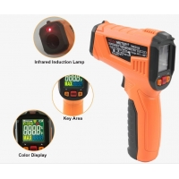 Buy cheap 2020 The Most Popular High precision digital laser infrared thermometer with LCD for industrial and domestic use product