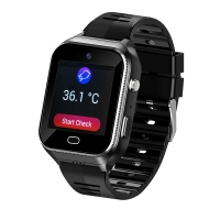 Buy cheap Elderly People smart watch With SIM Android OS 4G GPS tracking SOS GEO heart rates monitor, temperature monitor product