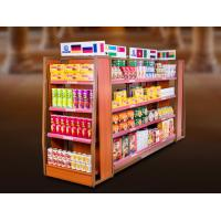 Buy cheap Economical Convenience Store Display Fixtures / Grocery Store Display Racks product
