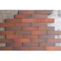 Buy cheap Outdoor Decorative Thin Clay Bricks Extruded / Sintered For Building Facade product