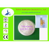 Buy cheap Anesthetic Drugs Tetracaine Pharmaceutical Intermediate CAS 94-24-6 from wholesalers